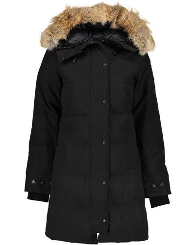 Canada Goose Shelburne Black Label Parka Zwart