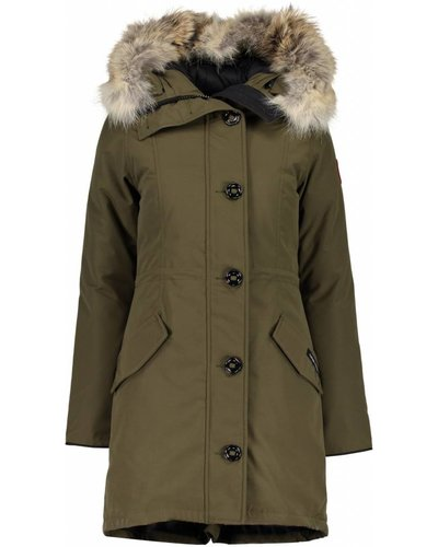 Canada Goose Rossclair Parka  Army Green