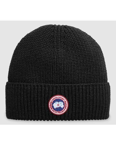 Canada Goose Artic Disc Toque Hat Black