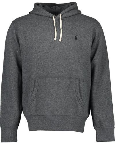 Polo Ralph Lauren Basic Logo Hoodie Grijs