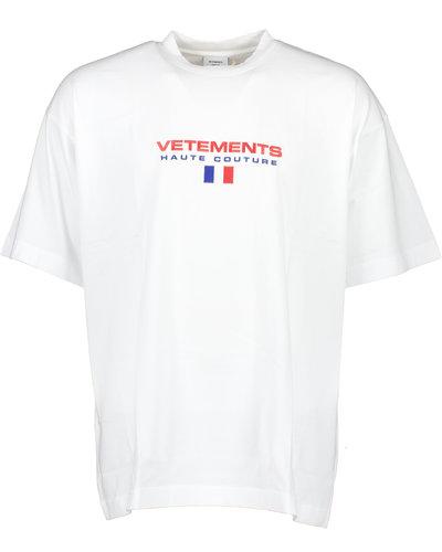 Vetements Haute Couture Logo T-shirt White