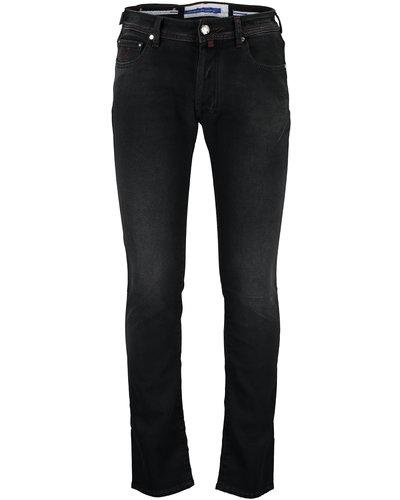 Jacob Cohën Bard Slim Jeans Limited Zwart