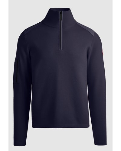 Canada Goose Stormont 1/4 Zip Sweater Marine