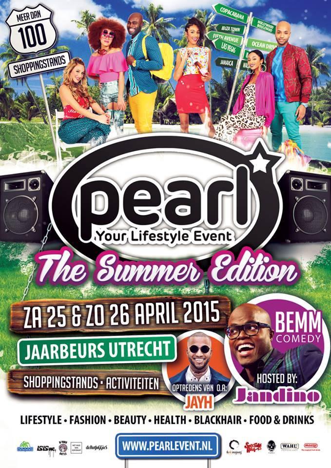 Sheado Pop Up Salon tijdens Pearl Event