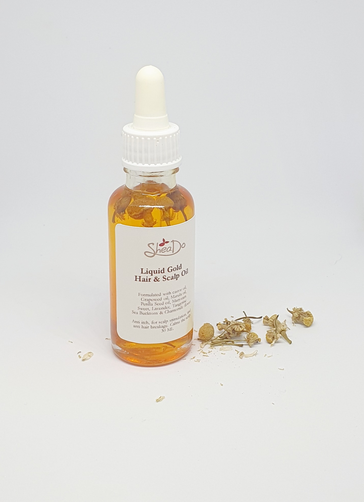 Liquid Gold Hair & Scalp Oil