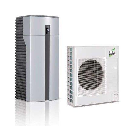 REMKO warmtepomp huis pakket voor verwarming, koeling en warm tapwater