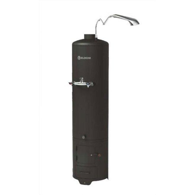 Hout gestookte warm water boiler, 80 liter