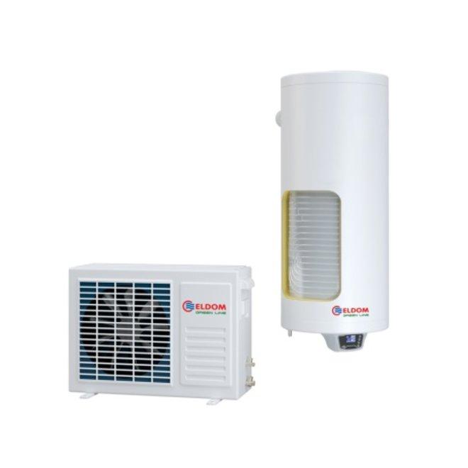 120l Lucht-water warmtepomp voor tapwater