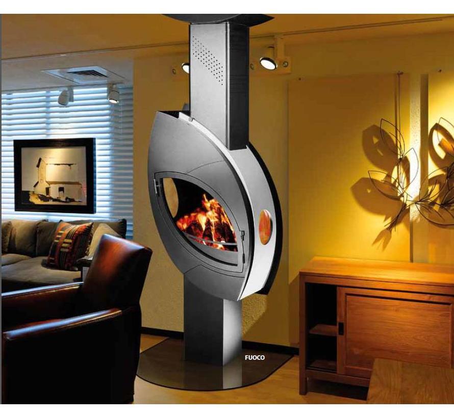 Fuoco design houtkachel (12 kW)