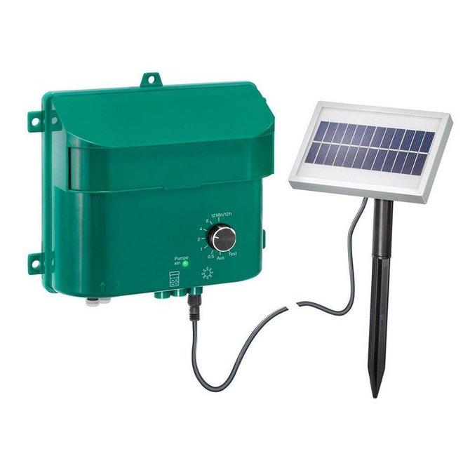 Automatisch bewateringssysteem op zonnecel