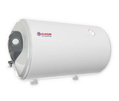 ELDOM Favourite Elektrische Boiler 80L, horizontaal, 2kW, emaille, aansluiting links of rechts