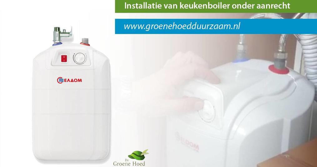 Instructie video's voor installatie keukenboilers