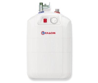 ELDOM Extra Life Keukenboiler, 10 liter, 2 kW, voor onder het aanrecht