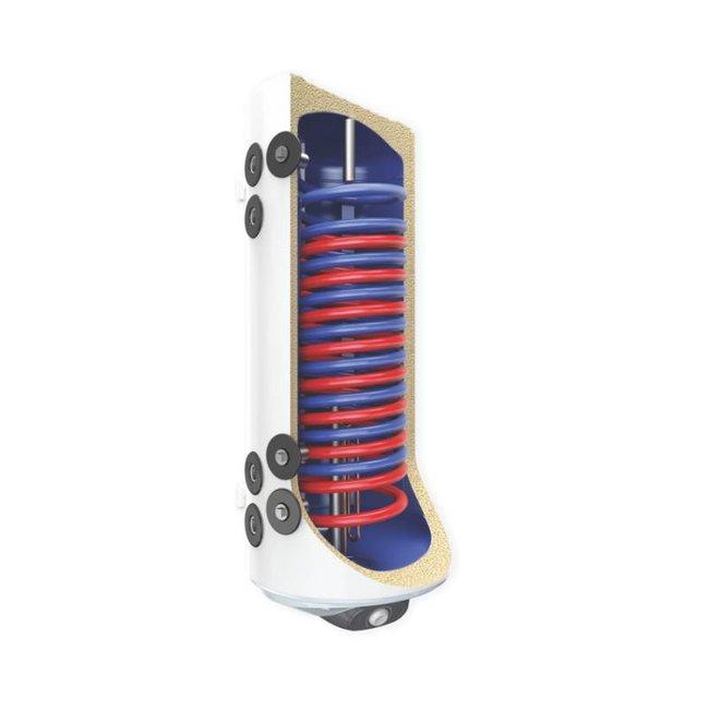 ELDOM Green Line 120L hangende combinatie boiler, 2 parallelle warmtewisselaars