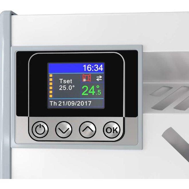 Eldom Extra Life 2,5 kW elektrische wandconvector met digitale bediening en thermostaat ErP