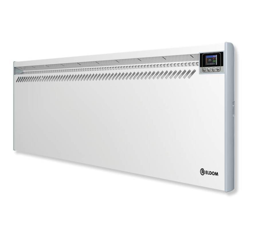 Eldom Extra Life 2,0 kW elektrische wandconvector met digitale bediening en thermostaat ErP