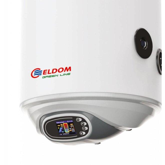 Elektrische boiler 80L met warmtewisselaar en digitale bediening