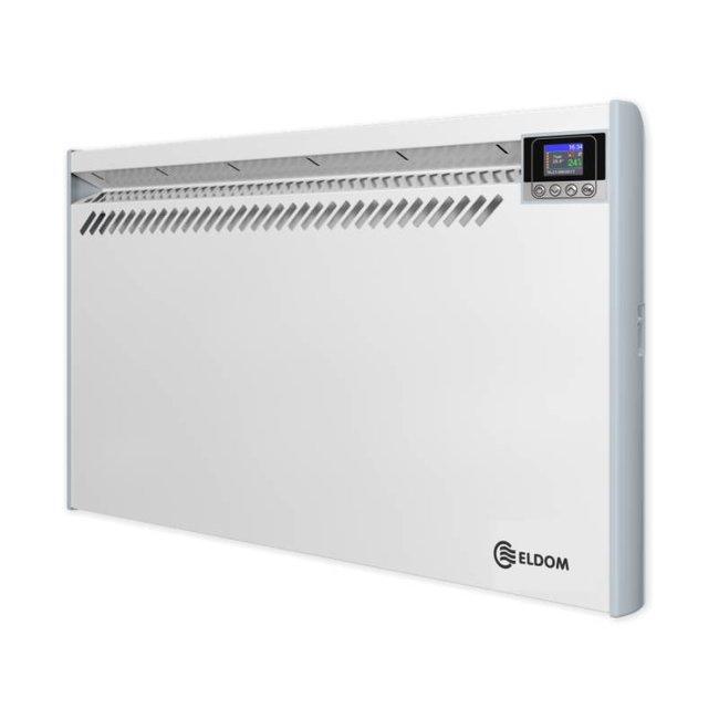 ELDOM Extra Life Eldom Extra Life 1,0 kW elektrische wandconvector met digitale bediening en thermostaat ErP