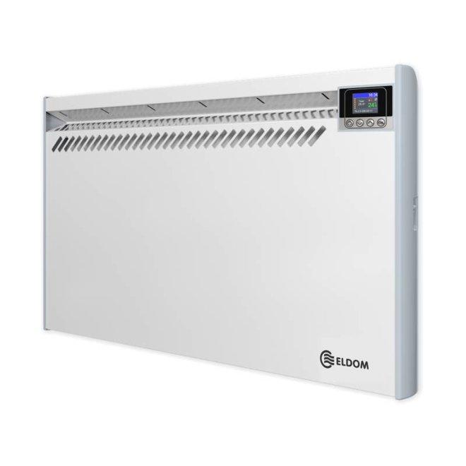 Eldom Extra Life 1,0 kW elektrische wandconvector met digitale bediening en thermostaat ErP