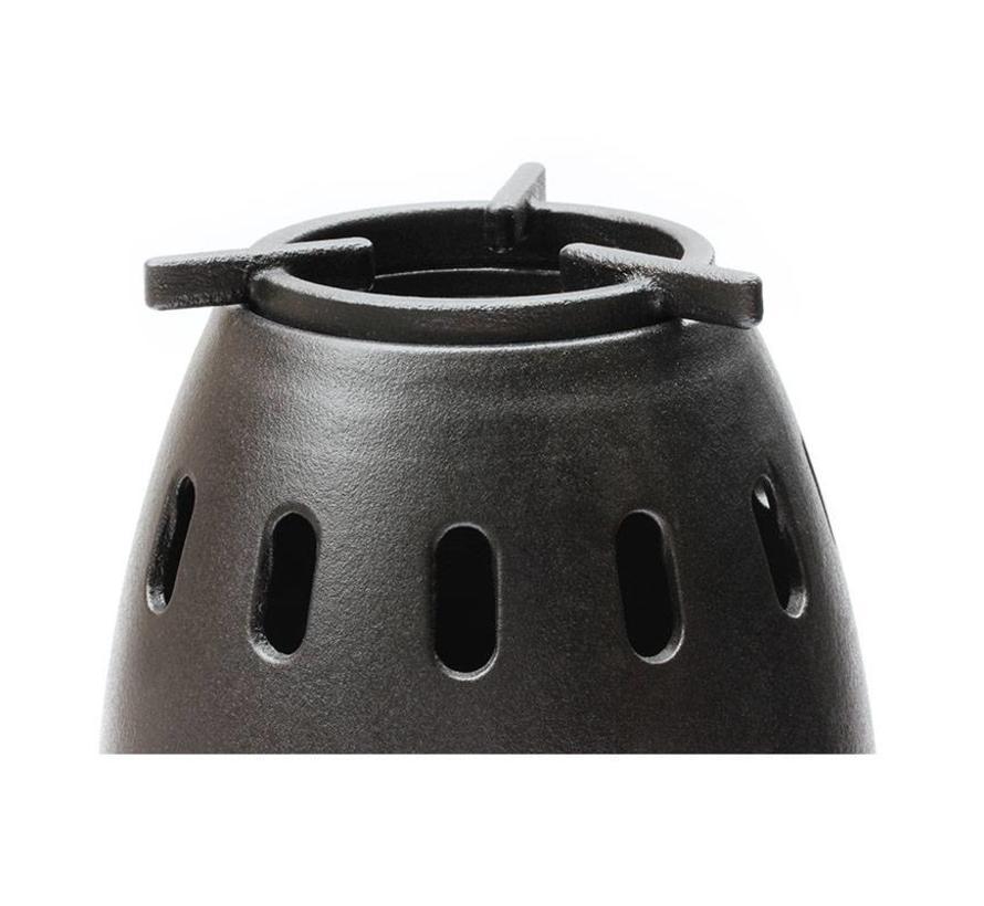 ikiPele, een compacte rookvrije pelletkachel voor buiten