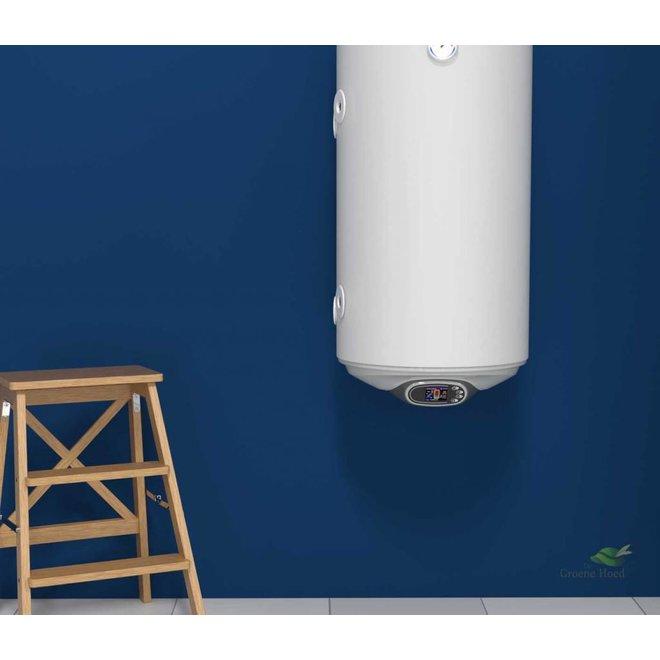 Elektrische boiler 120L met warmtewisselaar en digitale bediening