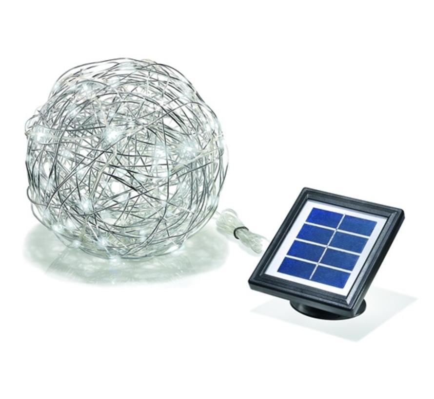 Aluminium Draadlamp Led - Wireball