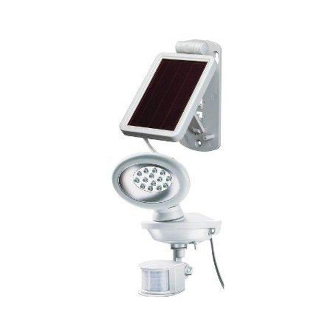 Buitenlamp met bewegingsmelder Sol 14 (wit of zwart)