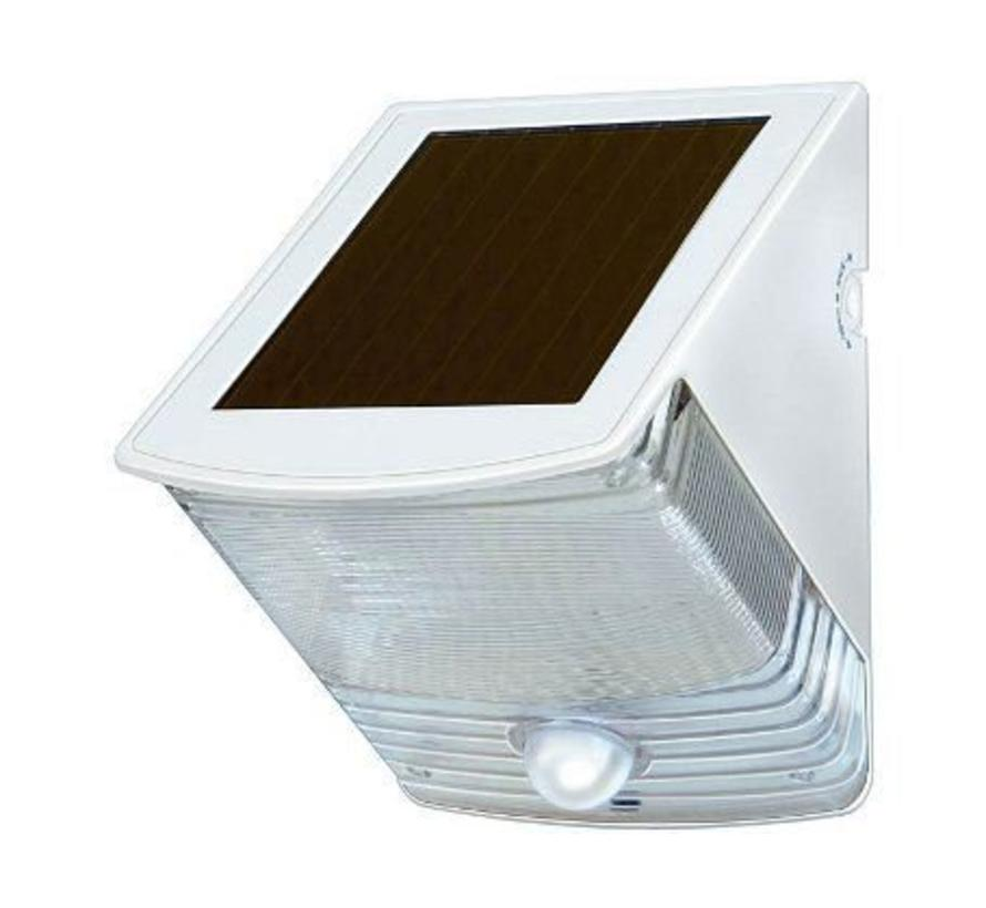 Solar led wandlamp Sol 04 (wit of zwart)