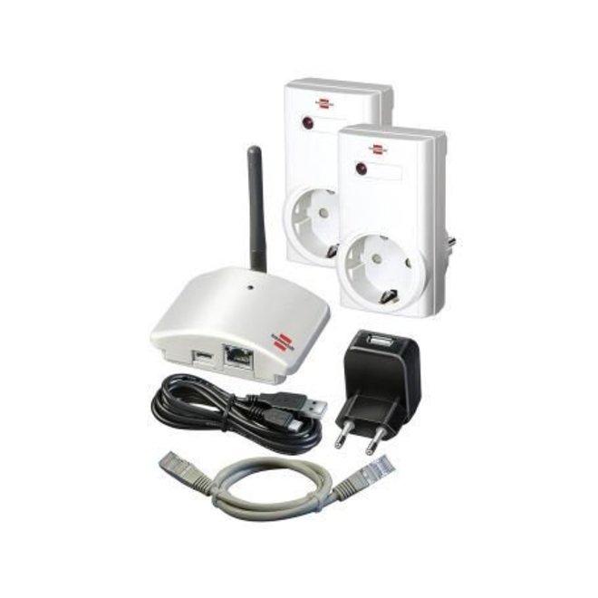 Home automation basisstation inclusief bedienbare stopcontacten