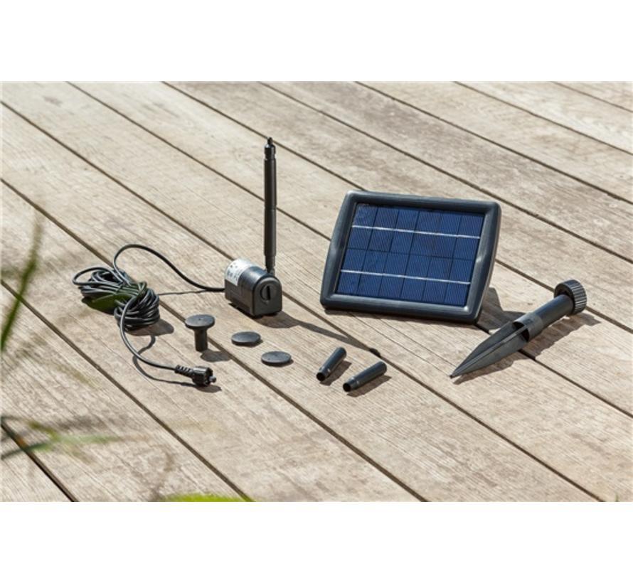 Solar vijverpomp 2W 175 l/h Komplettset