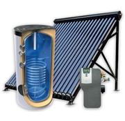 TechniQ 160L zonneboiler-set voor tapwater ondersteuning