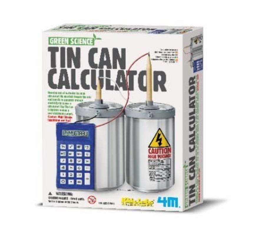 Maak zelf stroom voor je rekenmachine