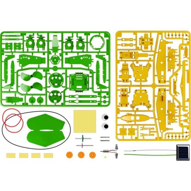 Solarpower recycle bouw pakket