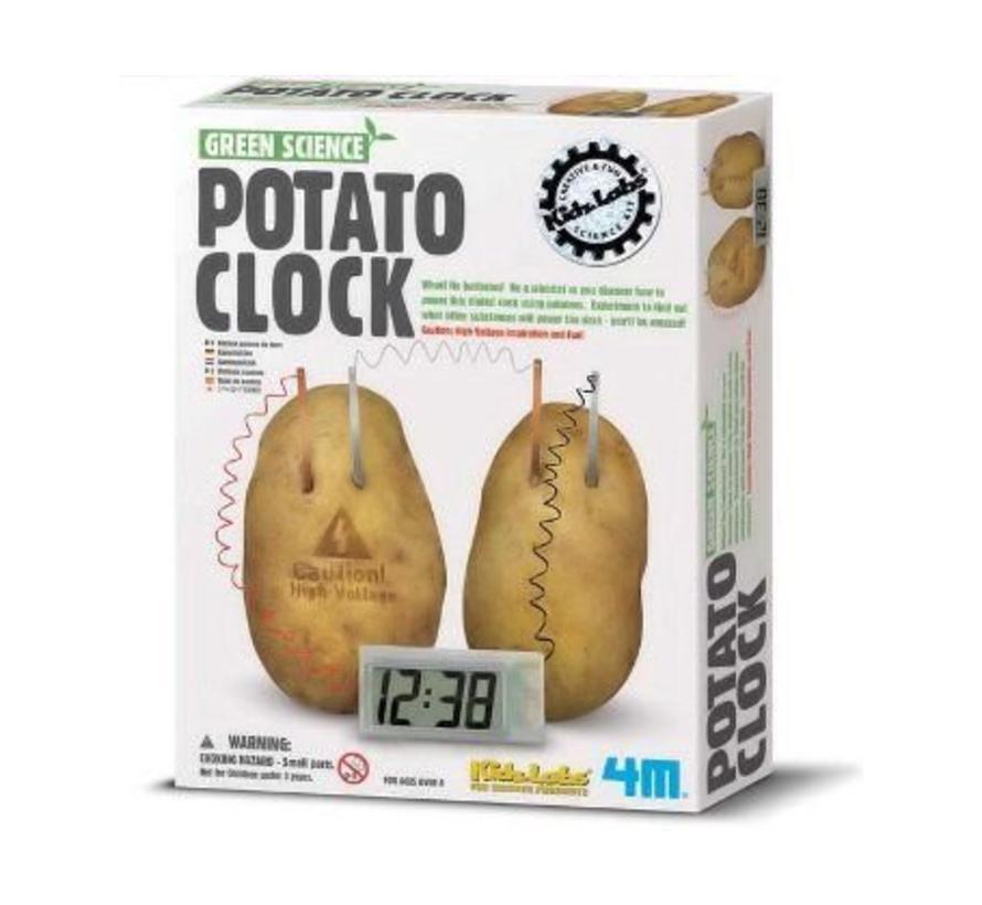 Aardappel klok