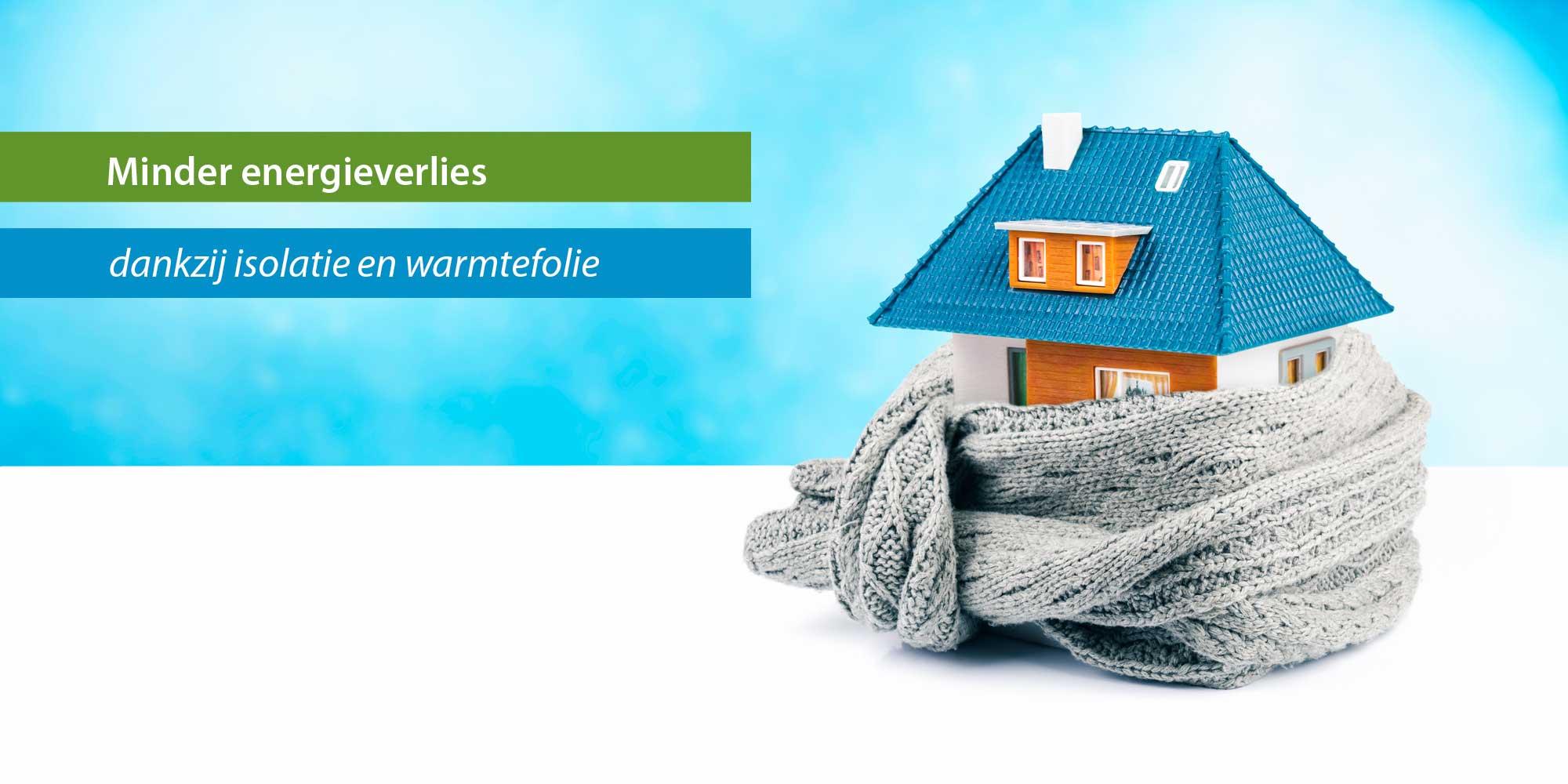 Isolatie en warmtefolie