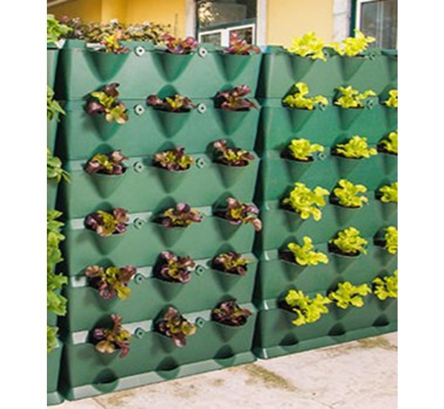 Vertical  Groene wandmodule 3-delige  starterset