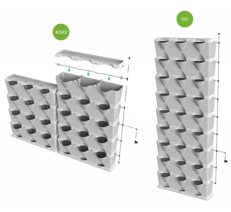 Irrigatiekit voor verticale modules