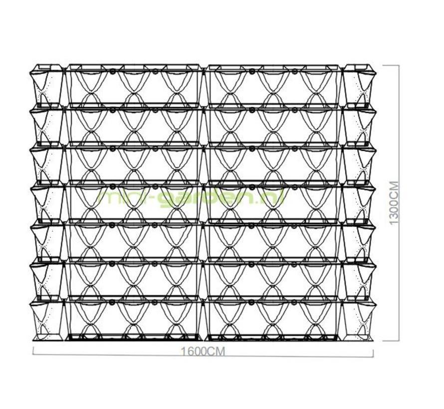 Vertical en Corner 1.75m2 combinatie pakket