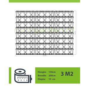 Minigarden Vertical 3.0m2  combinatie pakket