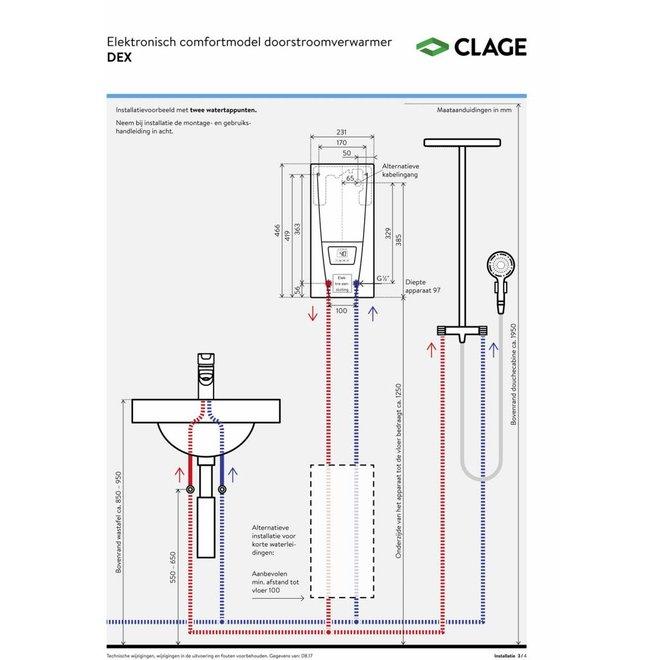 Elektrische instant heater DEX electronic MPS