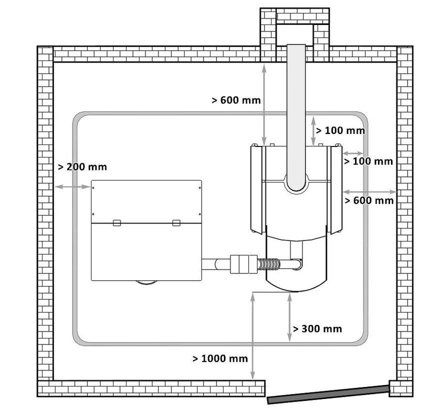 Pelletketel PLB 40 V2