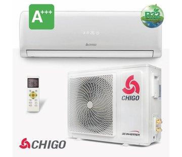 Chigo Split-unit inverter airco 2.5 kW voorgevuld
