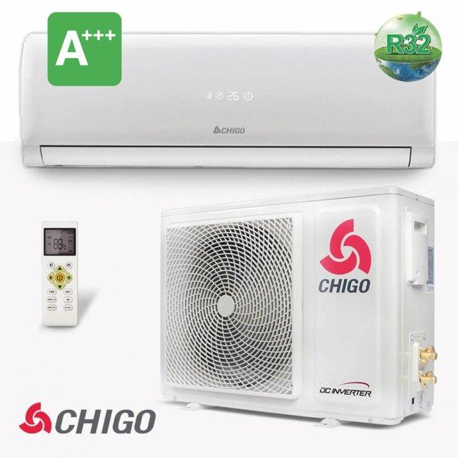 Chigo Split-unit inverter airco 2.5 kW voorgevuld (STEK)