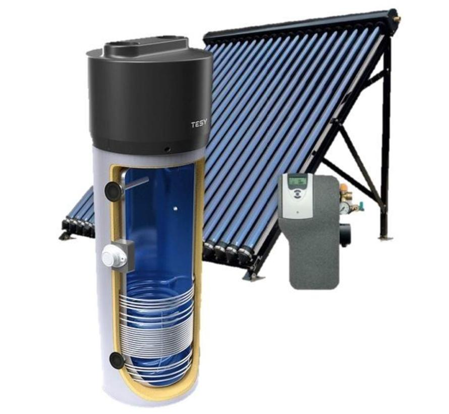 Zonne-warmtepompboiler combinatie 200L, met 24 Heat Pipes