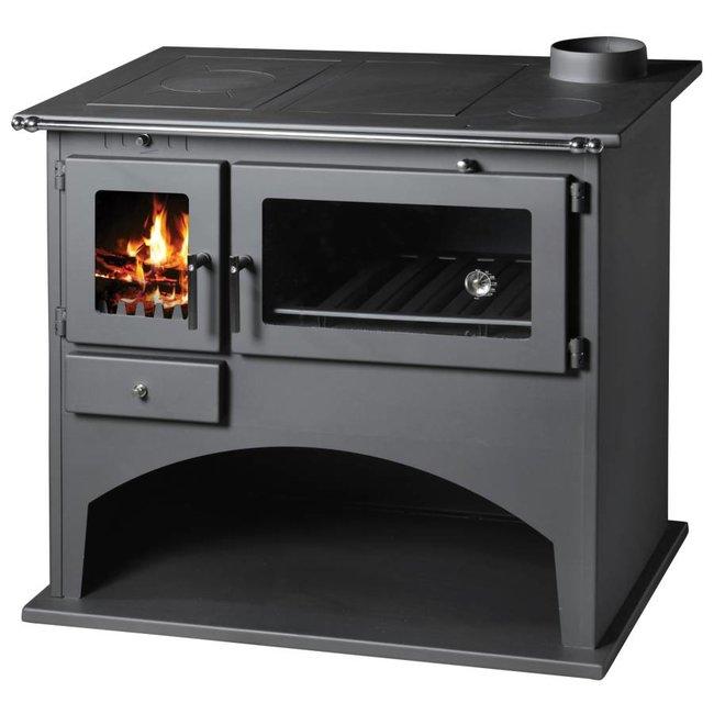 Victoria Viki houtkachel met oven en fornuis (10.5 kW)