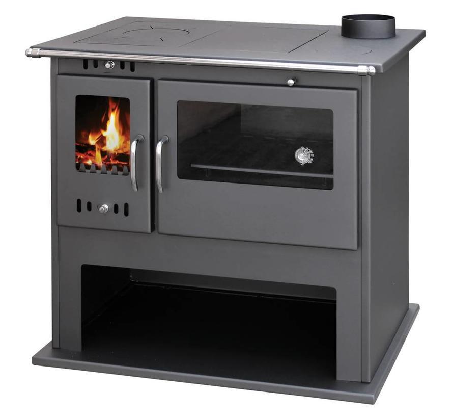 Viki Lux houtkachel met oven en fornuis (10.5 kW)