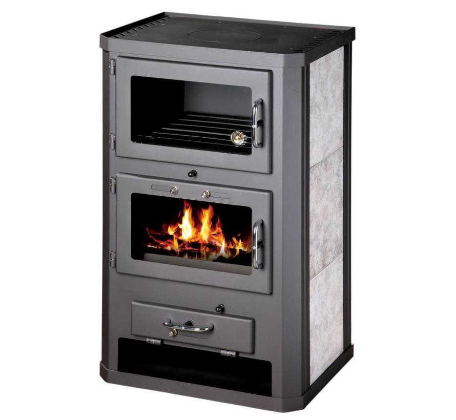 Grande F, Houtkachel met oven (12 kW)