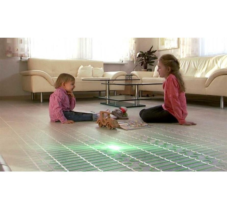 Elektrische vloerverwarming - 200 x 50cm - 2 x 70W