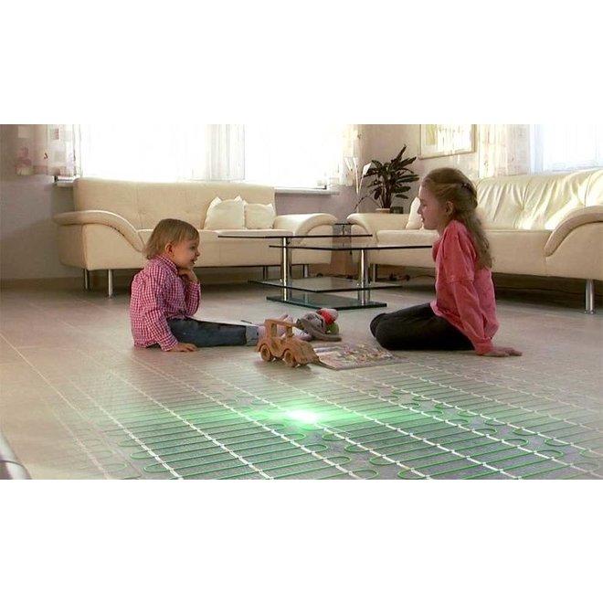 Elektrische vloerverwarming - 1800 x 50cm - 2 x 611W