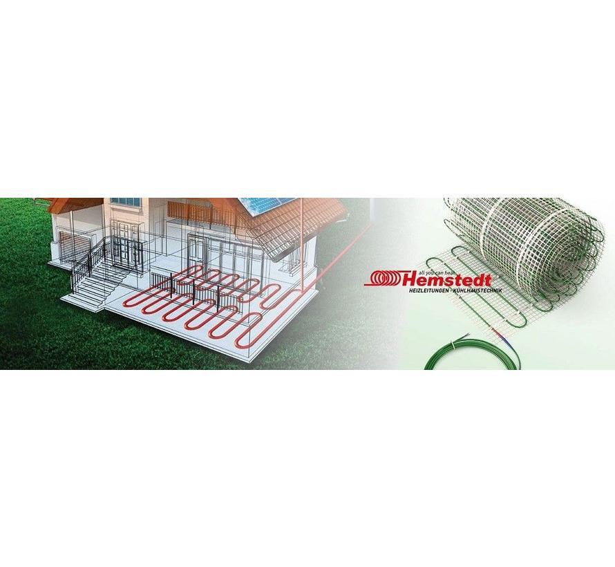 Elektrische vloerverwarming - 2000 x 50cm - 2 x 715W